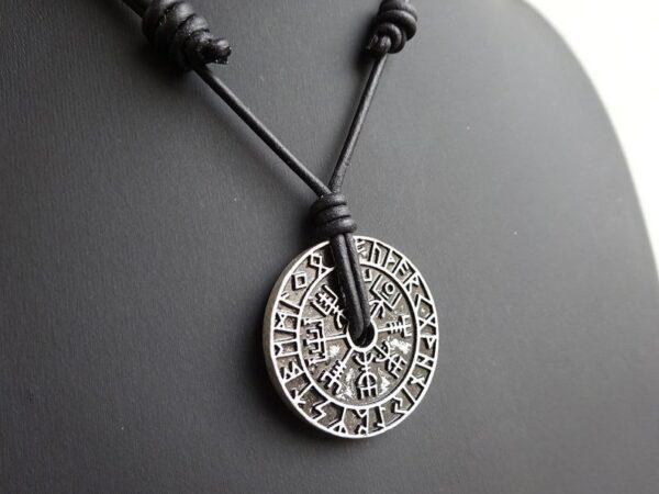 Vegvisir Viking Compass Necklace