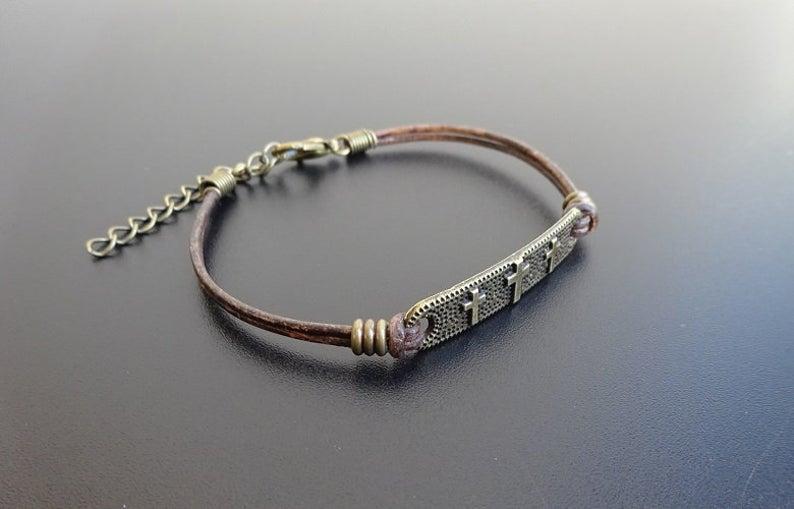 tag cross bracelet 3