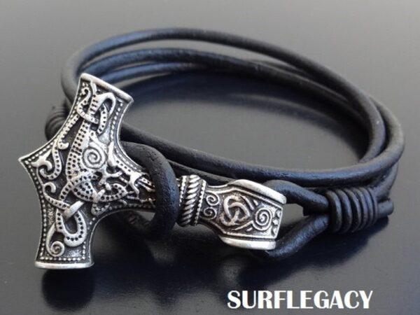 Mjolnir Thors Hammer Bracelet