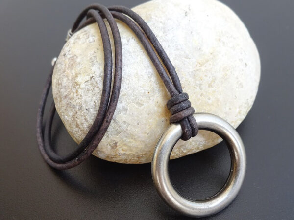 men's ring necklace